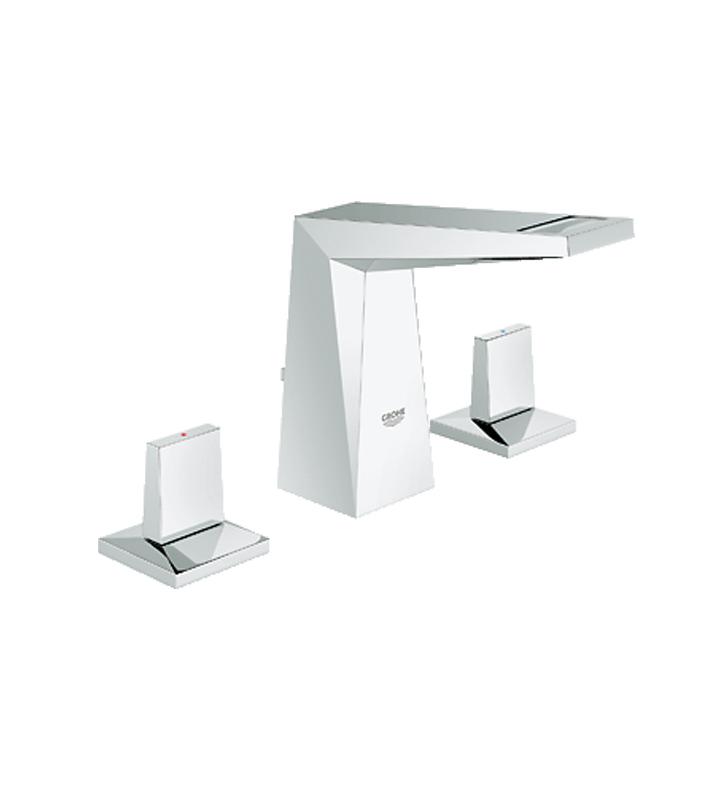 Grohe 20343000 Allure Brilliant Widespread Bathroom Faucet In Chrome