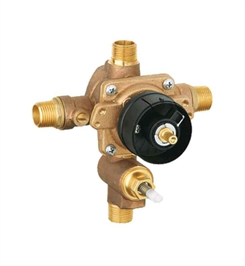 Grohe 35016000 Grohsafe Pressure Balance Rough-In Valve with Built-In Mechanical Diverter