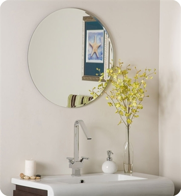 Decor Wonderland SSM213 Circles Frameless Bevel Mirror