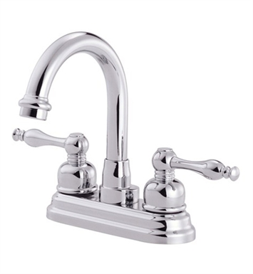 Danze Sheridan™ Two Handle Centerset Lavatory Faucet in Chrome
