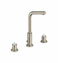Grohe Atrio Widespread Bathroom Faucet in Brushed Nickel