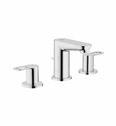 Grohe BauLoop Widespread Bathroom Faucet in Chrome