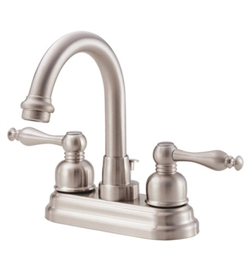 Danze D301255BN Sheridan™ Two Handle Centerset Lavatory Faucet in Brushed Nickel