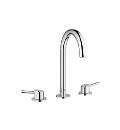 Grohe Concetto Widespread Bathroom Faucet in Chrome