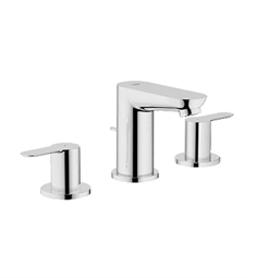 Grohe BauEdge Widespread Bathroom Faucet in Chrome