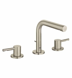 Grohe Essence Widespread Bathroom Faucet in Brushed Nickel