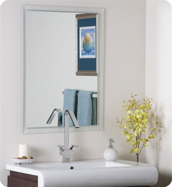 Decor Wonderland SSM25 Reflections Modern Frameless Mirror