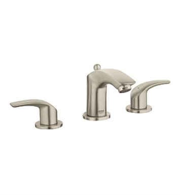Grohe 20294EN0 Eurosmart Widespread Bathroom Faucet in Brushed Nickel