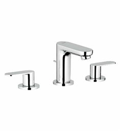 Grohe Eurosmart Cosmopolitan Widespread Bathroom Faucet in Chrome
