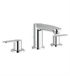 Grohe Eurostyle Cosmopolitan Widespread Bathroom Faucet in Chrome
