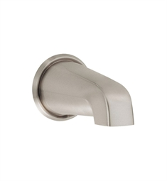 "Danze D606325BN 8"" Wall Mount Tub Spout in Brushed Nickel"