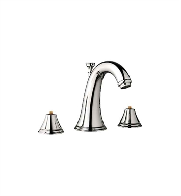 Grohe 20801BE0 Geneva Widespread Bathroom Faucet in Polished Nickel