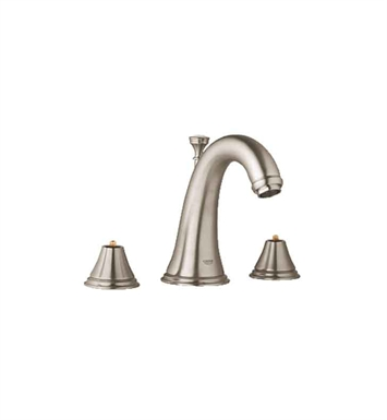 Grohe 20801EN0 Geneva Widespread Bathroom Faucet in Brushed Nickel