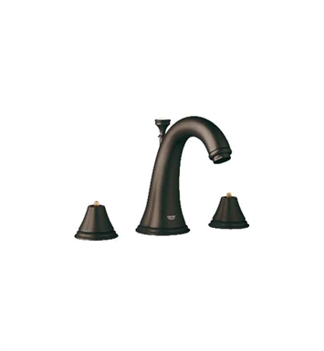 Grohe 20801ZB0 Geneva Widespread Bathroom Faucet in Oil Rubbed Bronze