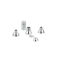 Grohe 24019EN0 Geneva Bidet Set in Brushed Nickel