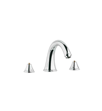 Grohe 25054ZB0 Geneva Roman Tub Faucet in Oil Rubbed Bronze