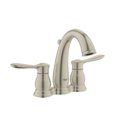 Grohe Parkfield Mini-Widespread Bathroom Faucet in Brushed Nickel