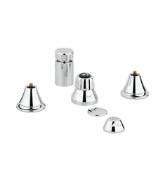 Grohe 24020000 Seabury Bidet Set in Chrome
