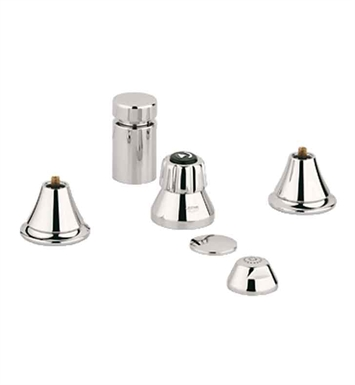 Grohe 24020BE0 Seabury Bidet Set in Polished Nickel