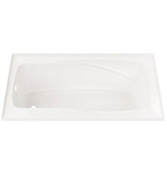 "Neptune Entrepreneur Velona 60"" x 32"" Customizable Alcove Soaker Bathtub"