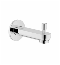Grohe BauLoop Diverter Tub Spout in Chrome