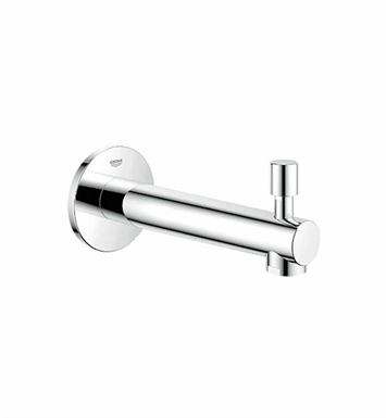 grohe 13275001 concetto diverter tub spout in chrome. Black Bedroom Furniture Sets. Home Design Ideas