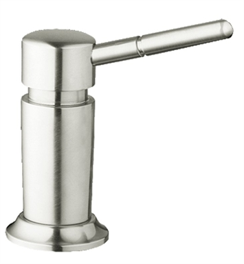 Grohe 28751SD1 Deluxe Soap Dispenser in Stainless Steel