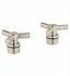 Grohe Atrio Spoke Handles For Kitchen/Bar & Lavatories in Brushed Nickel
