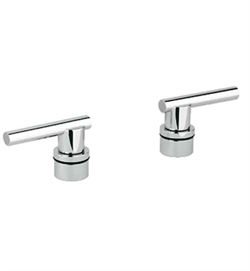 Grohe 18034000 Atrio Lever Handles For Roman Tub Fillers in Chrome