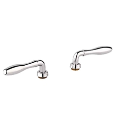 Grohe Seabury Lever Handles in Polished Nickel