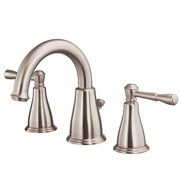 Danze Eastham™ Two Handle Widespread Lavatory Faucet in Brushed Nickel