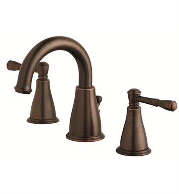 Danze Eastham™ Two Handle Widespread Lavatory Faucet in Tumbled Bronze