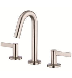 Danze Amalfi™ Two Handle Mini-Widespread Lavatory Faucet in Brushed Nickel