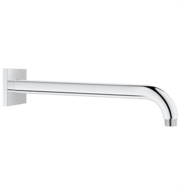 "Grohe 27489000 Rainshower 2 1/2"" Shower Arm with Square Flange in Chrome"
