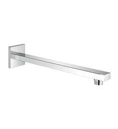 Grohe Eurocube Wall Mounted Shower Arm with Square Flange in Chrome