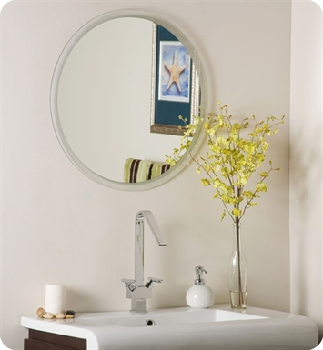 Decor Wonderland SSM440 Dia Frameless Mirror