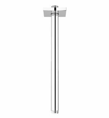 Grohe 27487000 Rainshower Ceiling Shower Arm with Square Flange in Chrome