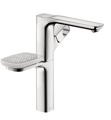 Hansgrohe 11034001 Axor Urquiola Single-Hole Tall Faucet with Soap Dish in Chrome