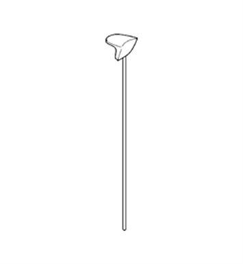 Grohe 06048L00 Europlus Lift Rod in White