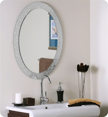Decor Wonderland SSM5016-4 Luxor Frameless Wall Mirror