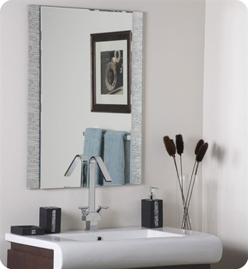 Decor Wonderland SSM5039 Molten Frameless Wall Mirror