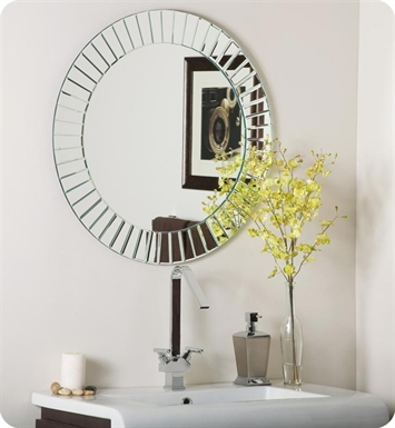 Decor Wonderland SSM529 The Glow Modern Frameless Wall Mirror