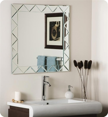 Decor Wonderland SSM530 Luciano Frameless Wall Mirror