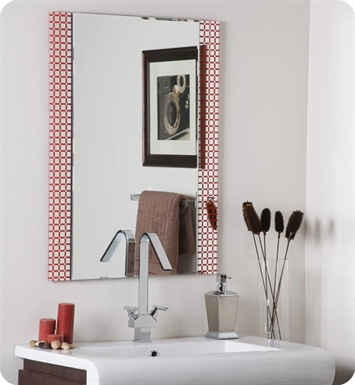 Decor Wonderland Hip to Be Square Frameless Bathroom Mirror