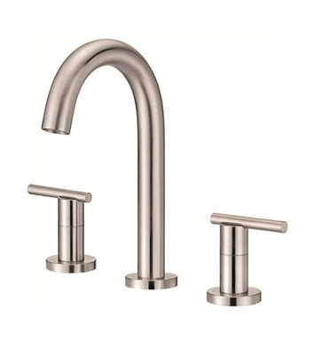 Danze D304558BN Parma™ Trim Line Mini-Widespread Lavatory Faucets in Brushed Nickel