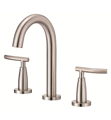 Danze D304554BN Sonora™ Trim Line Widespread Lavatory Faucets in Brushed Nickel