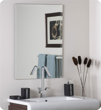 Decor Wonderland Frameless Bevel Mirror