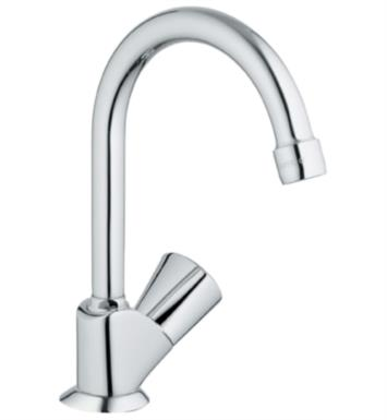 "Grohe 20179001 Classic II 8 3/4"" One Handle Deck Mounted Pillar Tap Kitchen Faucet in Chrome"