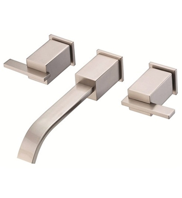 Danze D316244BNT Sirius™ Two Handle Wall Mount Lavatory Faucet Trim Kit in Brushed Nickel