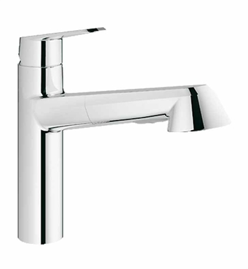 Grohe 33330002 Eurodisc Cosmopolitan Dual Spray Pull-Out Faucet in Super Steel